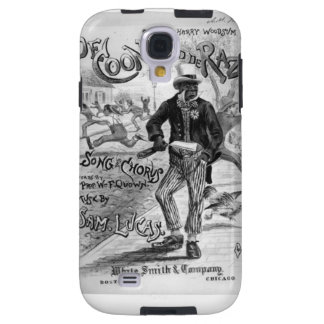 African American Coon Pictures Galaxy S4 Case