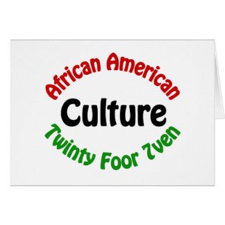 African American Culture Cards