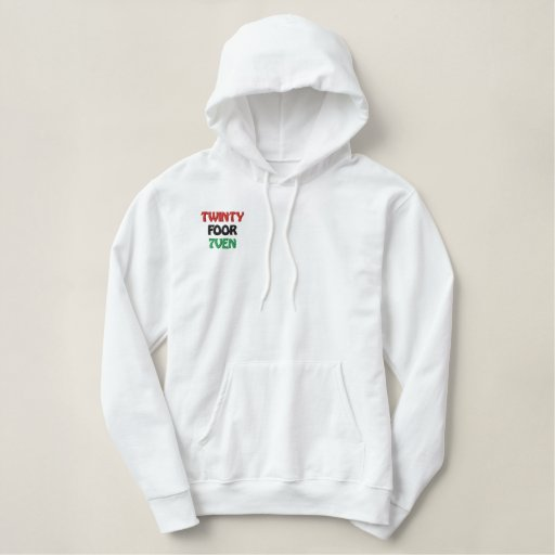 African American Culture Embroidered Hoodie