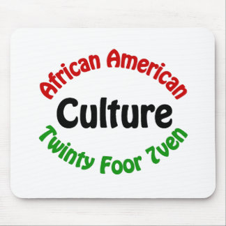 African American Culture Mouse Pads