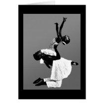 African American Dance Card