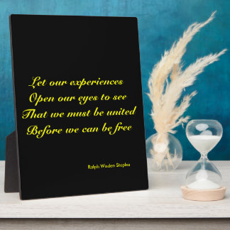 African American Experience Photo Plaque