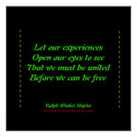 African American experience Print