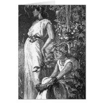 African American Fairies (Bridal Shower) Card