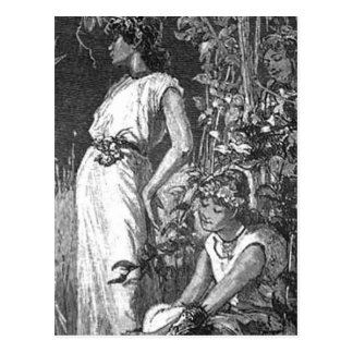 African American Fairies (Bridal Shower) Postcard