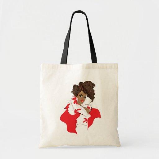 African american fashion girl bag
