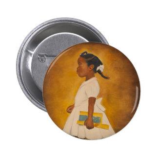 African American Fine Art Pinback Button