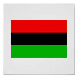 African American Flag Poster