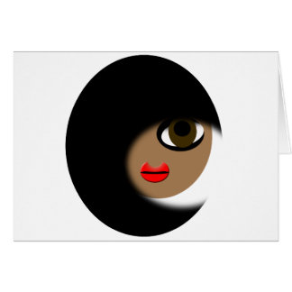 African American Girl Apparel! Greeting Cards
