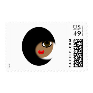 African American Girl Apparel! Postage Stamp
