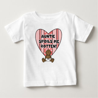 African American Girl Auntie Spoils Me Tshirts