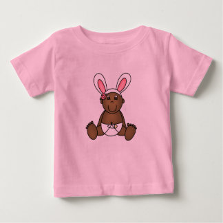 African American Girl Bunny Tshirt