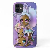 African American Girls Apple iPhone 11 Case