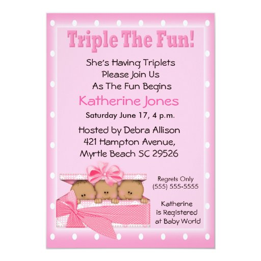 African American Baby Shower Invitations is best invitations sample