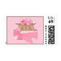 African American girls Twins Stamp