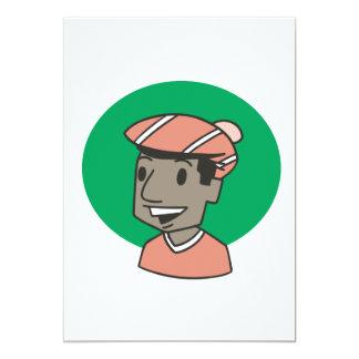 African American Golfer Card