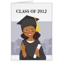 African American Graduate Card