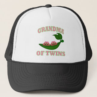 African American Grandma to Twins Trucker Hat