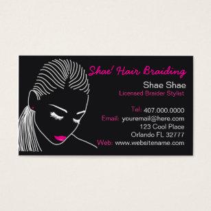 African business cards templates zazzle african american hair braider salon business card colourmoves Choice Image