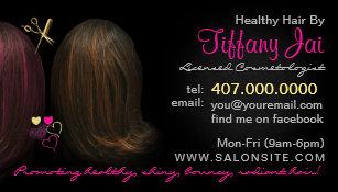 African american hair salon business cards templates zazzle african american hair salon business cards colourmoves