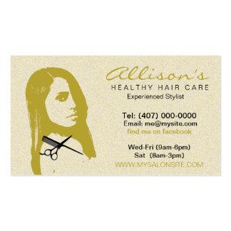 African American Hair Salon Business Cards 003