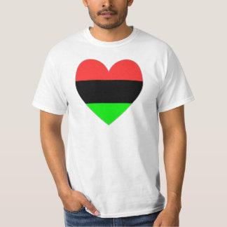 African American Heart Valentine T-Shirt