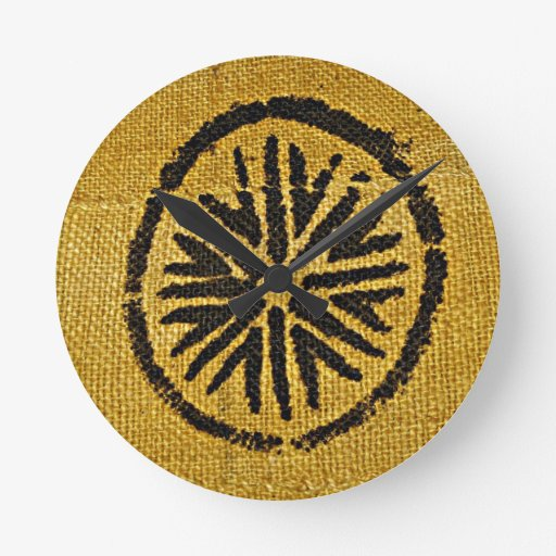 African American home decor yellow brown mud cloth