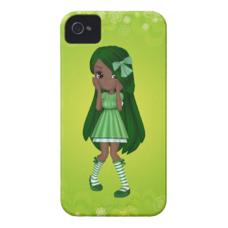African American Lady Lime Blackberry Case :)