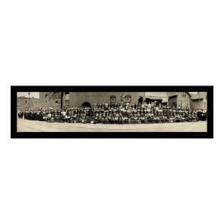African American Life Photo 1919 Poster