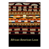 African American Love Card