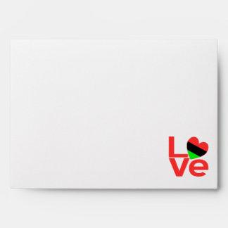 African American LOVE Envelope