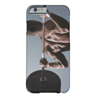 African American man working out the gym 2 Barely There iPhone 6 Case