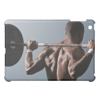 African American man working out the gym 2 Cover For The iPad Mini