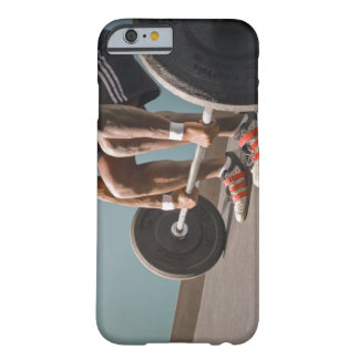 African American man working out the the gym Barely There iPhone 6 Case