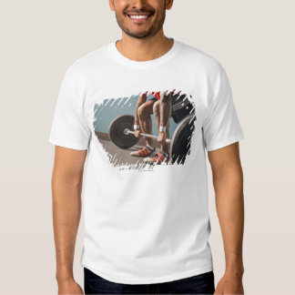 African American man working out the the gym T-shirt