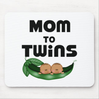 African American Mom to Twins Mouse Pad