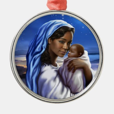 african american nativity art christmas ornaments zazzlecom