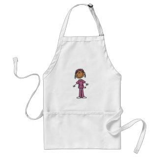 African American Nurse Adult Apron