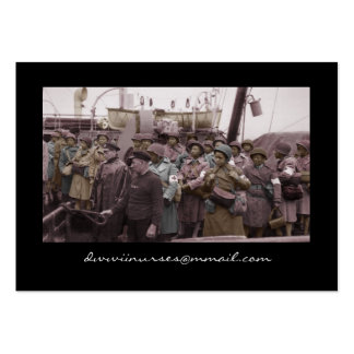 African American Nurses on Shipboard Large Business Cards (Pack Of 100)