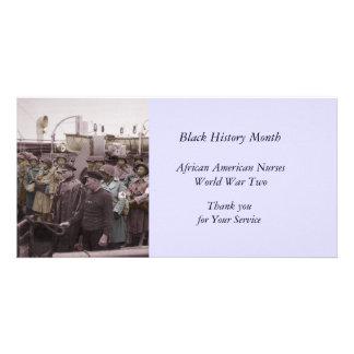 African American Nurses on Shipboard Card