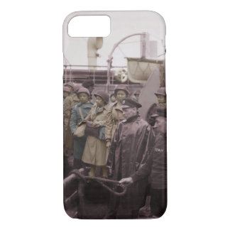 African American Nurses on Transport Vessel iPhone 8/7 Case