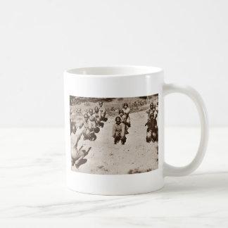 African American Nurses Working Out Coffee Mug