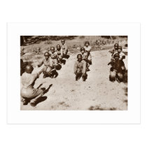 African American Nurses Working Out Postcard