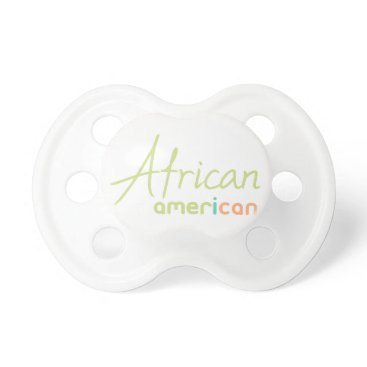 USA Themed African American Pacifier