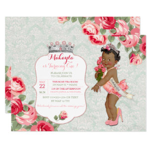 Pageant Invitations Zazzle