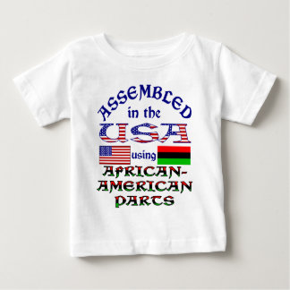 African American Parts Baby T-Shirt