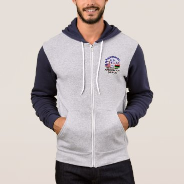 USA Themed African-American Parts Hoodie