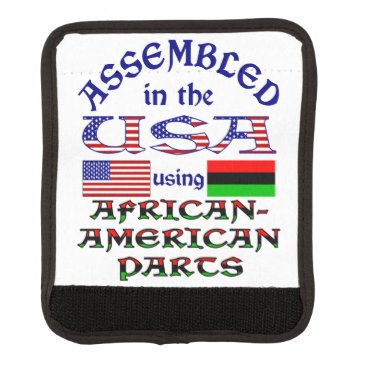 USA Themed African-American Parts Luggage Handle Wrap