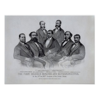 African American Pioneers Poster