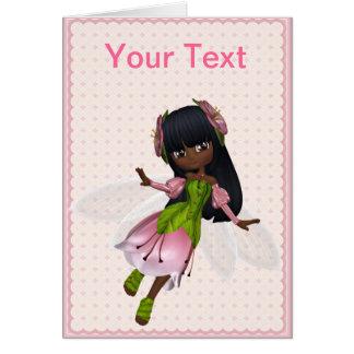 African American Princess Greeting Card